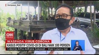 Kasus Positif Covid-19 di Bali Naik 100 Persen