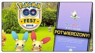 MITYCZNY CELEBI POTWIERDZONY! POKEMON GO FEST 2018