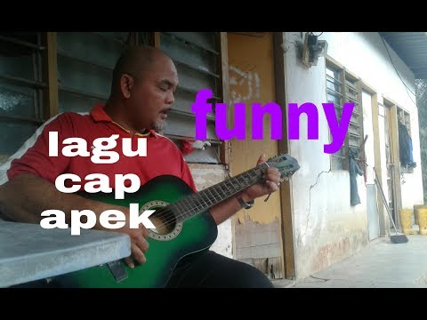 lagu cap apek cover  orang kampong  HD