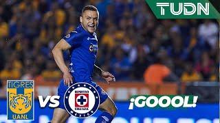 ¡Goool del 'Cabecita' Rodríguez! | Tigres 0 - 1 Cruz Azul | Liga Mx - AP 19 - J 15 | TUDN