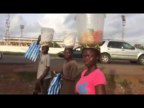 Walking to Centre of Monrovia, Liberia