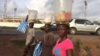Walking to Centre of Monrovia, Liberia thumbnail