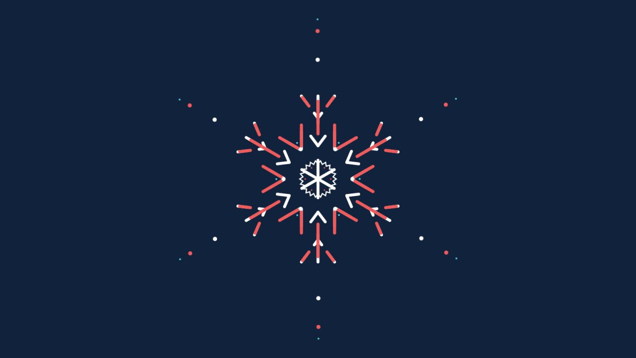 how to animate a snowflake in after effects