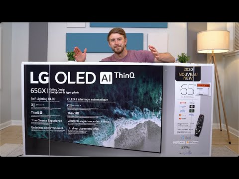 LG GX OLED 4K TV (2020) Unboxing: My First OLED TV!