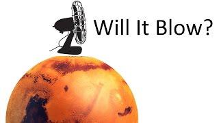 Could a Fan on Mars Make Wind?