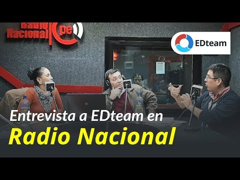 EDteam en Radio Nacional del Perú