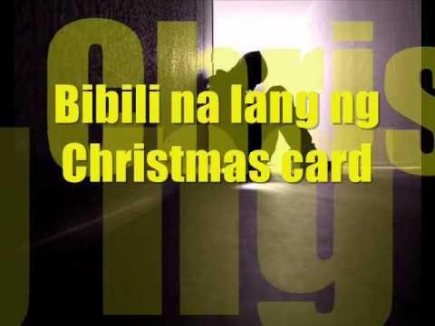 Christmas Single (LYRICS) - RocksTeddy