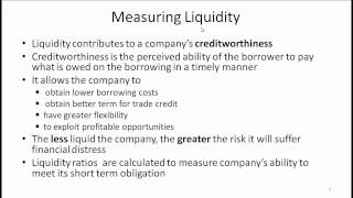 CFA Level I Working Capital Management Video Lecture by Mr. Arif Irfanullah  Part 1