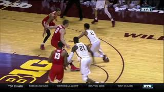 Amir Coffey Drive, Dunk-and-1 vs. Ohio State