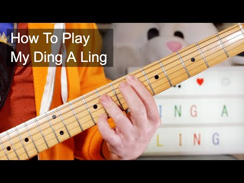 'My Ding A Ling' Chuck Berry Guitar Lesson