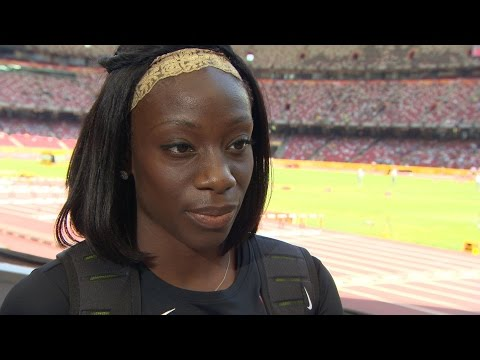 WCH 2015 Beijing - Christabel Nettey CAN Long Jump Qualification