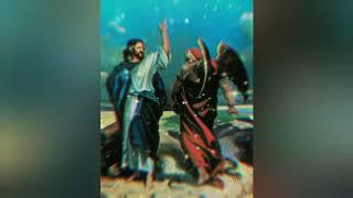 Иисус Христос и падший ангел Люцифер.