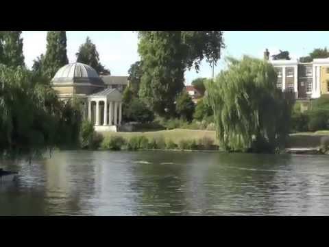 The Thames at Hampton, London