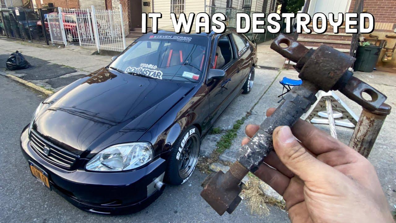 My Turbo civic needed this upgrade so bad !