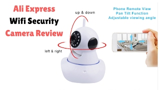 Wifi Security Camera System | Cheap Easy Solution | Ali Express Security Camera