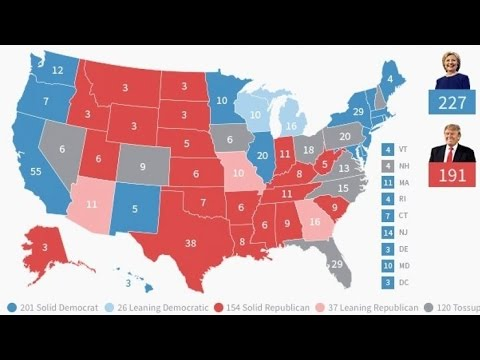 The Swing States That Will Decide Election