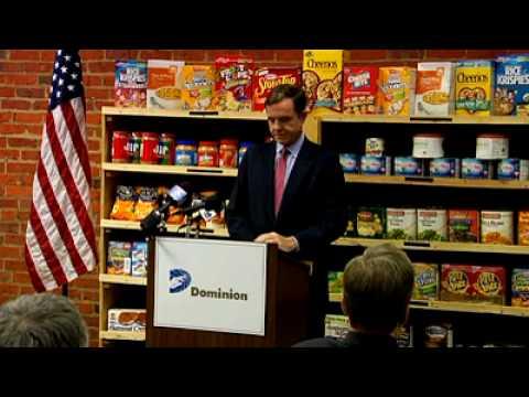 Virginia Food Bank Press Conference