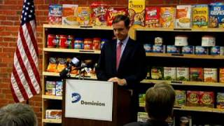 Virginia Food Bank Press Conference