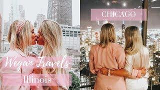 Wegan Travels Chicago, Illinois   VLOG   PART1   Lesbian Couple