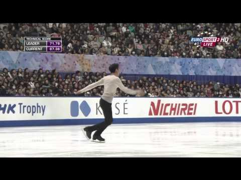 2014 NHK Trophy. Men. Free program