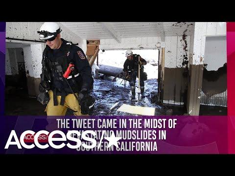 Rob Lowe Claps Back At Bella Thorne's Mudslide Traffic Tweet | Access
