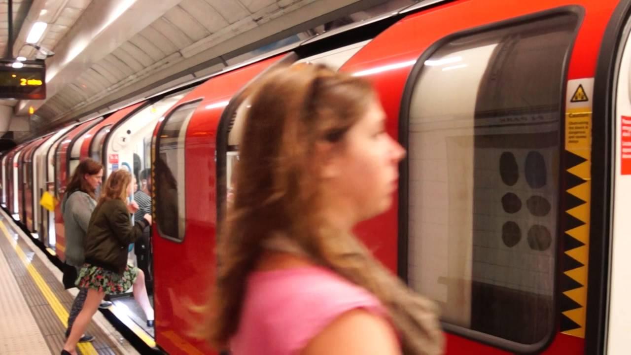 London Underground Victoria Line train at Green Park