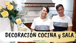 DECORACIÓN COCINA y SALA VERANO 2021 || 🍋IDEA CON LIMONES🍋 ||ORJO'S HOME