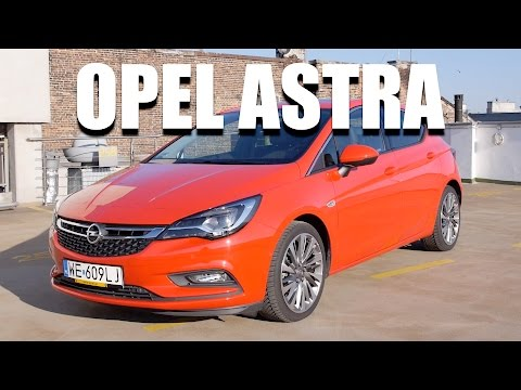 Opel Astra 2016 1.4 Turbo 150 HP (ENG) - Test Drive and Review