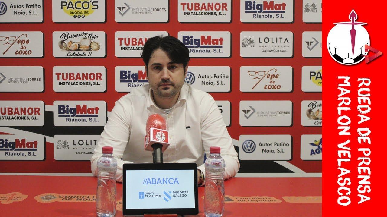 "Marlon Velasco: ""No hemos sabido gestionar esa ventaja"""