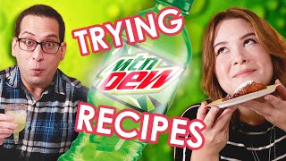 Would You Try These Forbidden Mountain Dew Recipes?