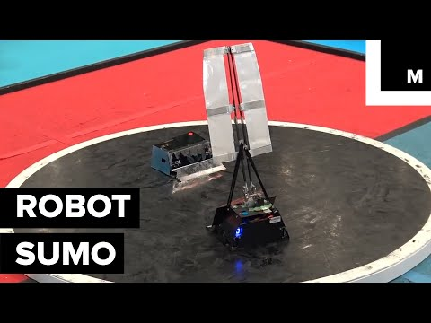 Robot-Sumo Is an Actual Sport and It's Not Just Popular in Japan