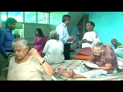 Most senior citizens in this 'ashram' hail from wealthy fami