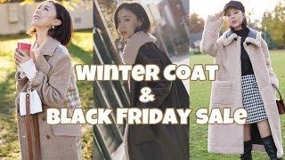 Winter Lookbook | 秋冬大衣外套风衣的多种穿搭方式 | 冬季穿搭灵感 | 保暖&时尚的单品| 黑五折扣攻略