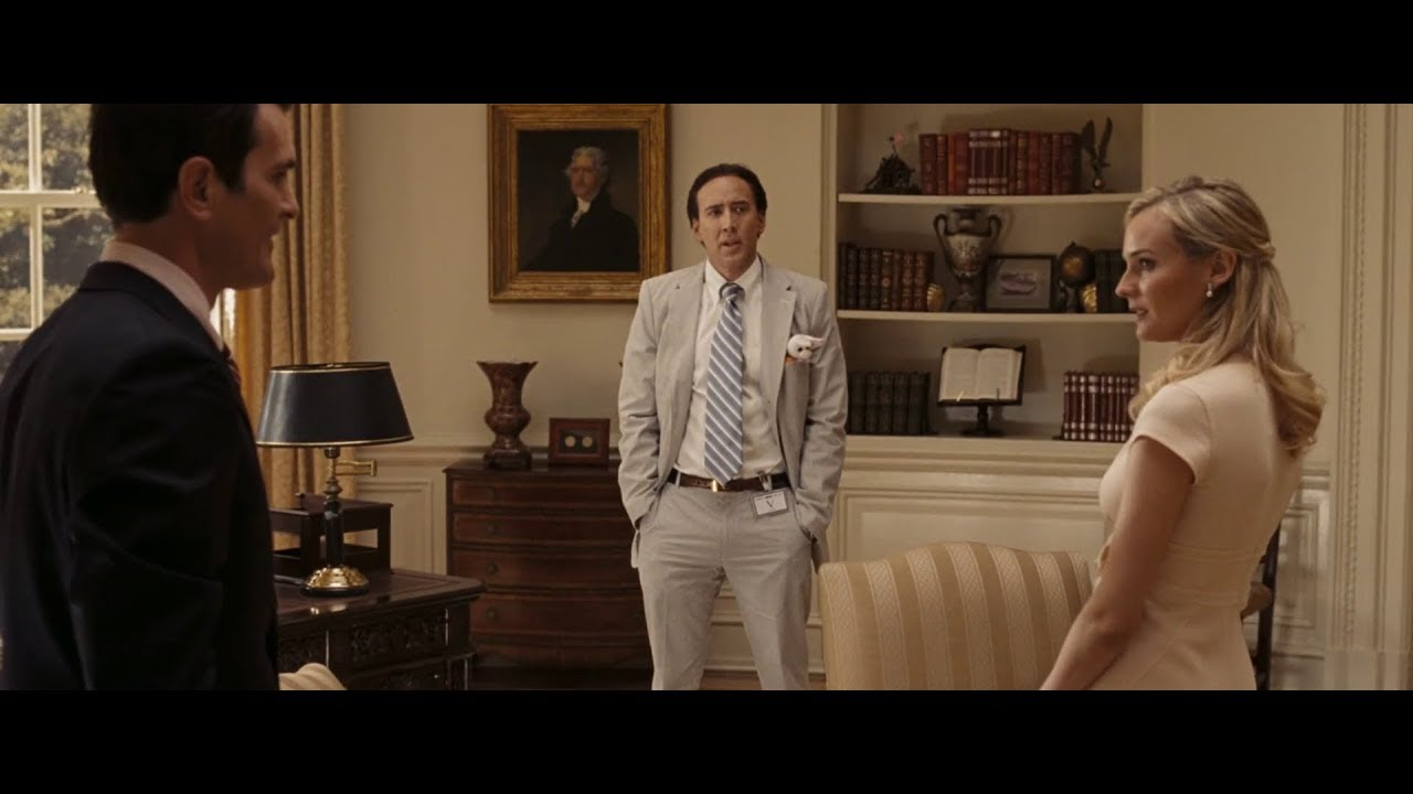Download National Treasure: Book of Secrets - Resolute Desk | Oval Office (HD)