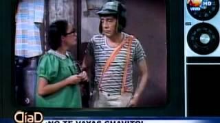 ¡No te vayas Chavito!: La despedida a un grande del humor