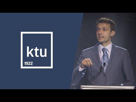 KTU | Diplomų įteikimo šventė 2016 | Andriaus Tapino sveikinimo kalba