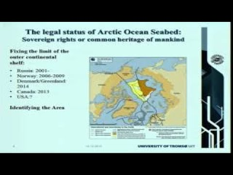 Polar waters between territorialization and(.)
