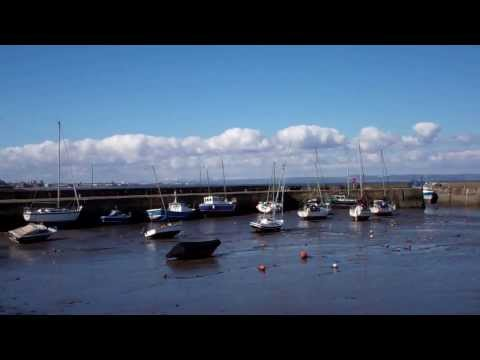 Harbour Fisherrow Musselburgh Near Edinburgh East Lothian Scotland