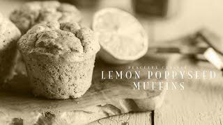 [No Music] How to make Lemon Poppyseed Muffins