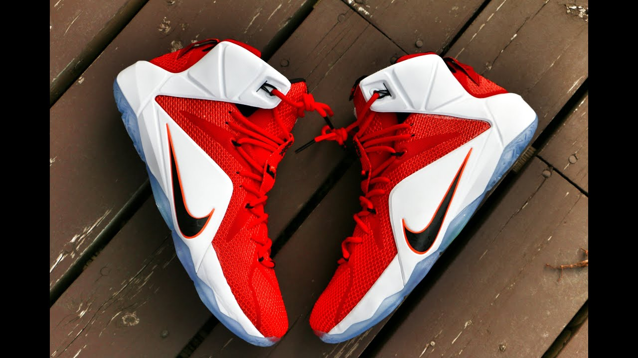 6713998c053 Nike LeBron 12 Lion Heart - Detailed Review - YouTube