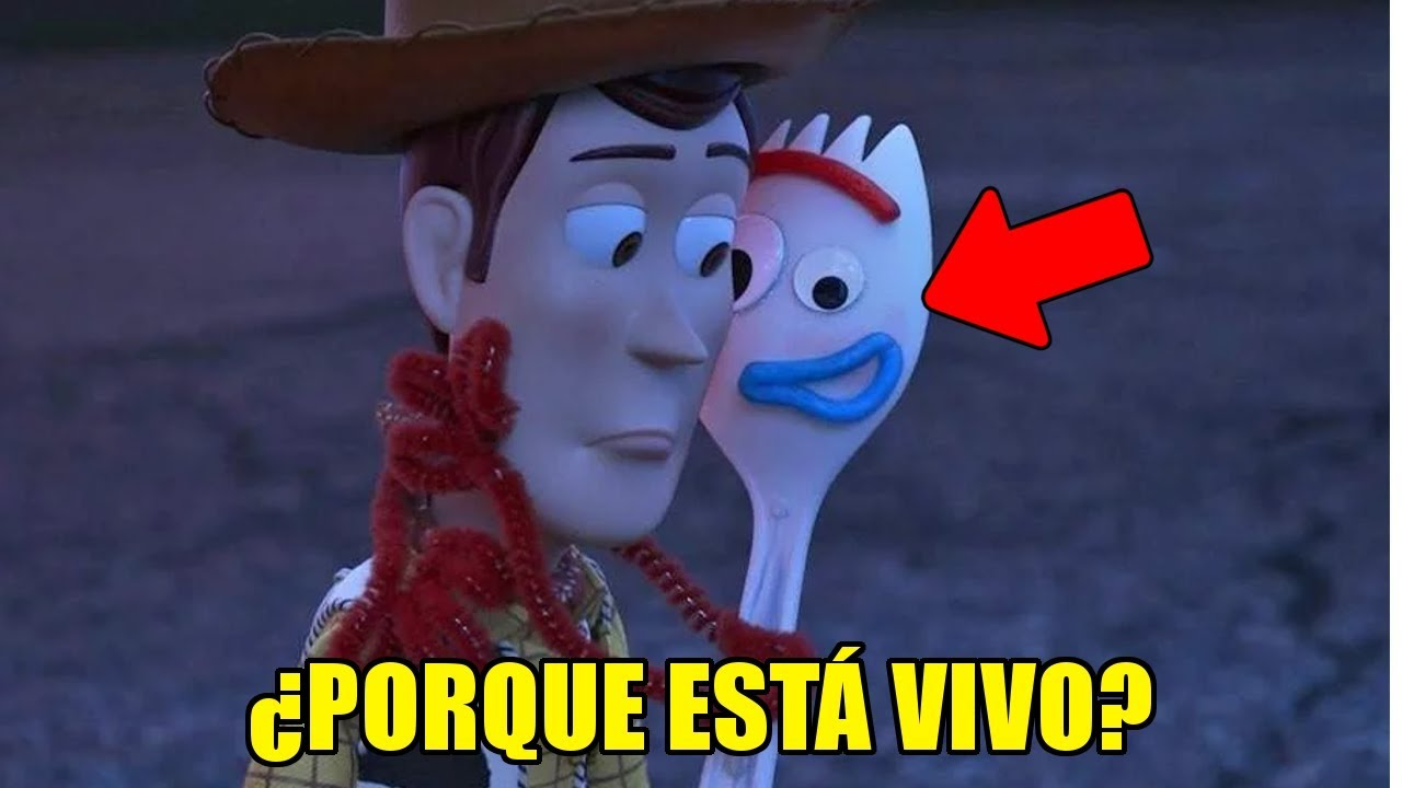 ¿Porque FORKY ESTA VIVO en TOY STORY 4? | Toy Story 4