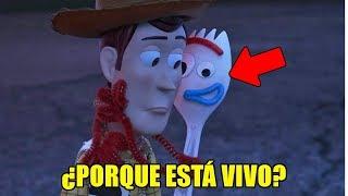 ¿Porque FORKY ESTA VIVO en TOY STORY 4?   Toy Story 4