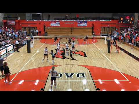 Alexa Sparks Setter / Libero Michigan City High School Sophomore Highlights