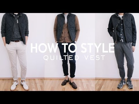 How To Style A Vest | Men's Fashion 2018