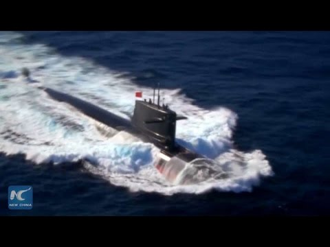 Rare footage of China's nuclear-powered submarines released