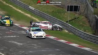 Nürburgring Crash Compilation - Best of Nordschleife Racing Crashes 24h, VLN, RCN Crashes & Fails