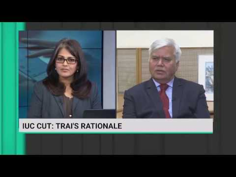Chairman, TRAI interview with Bloomberg TV