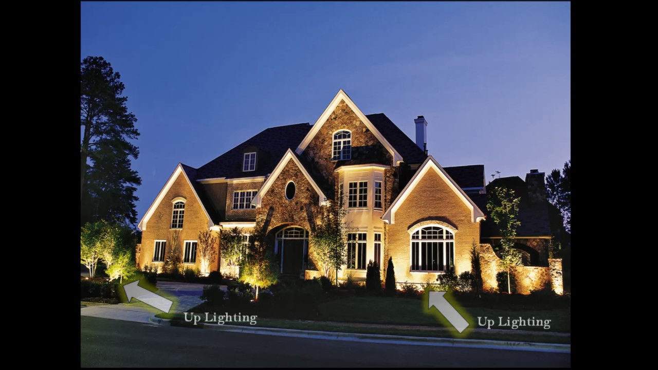 how to place landscape lighting