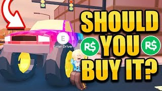 SHOULD YOU BUY THE 1 MILLION DOLLAR MONSTER TRUCK!? *60,000 ROBUX* (Roblox Jailbreak New Update)