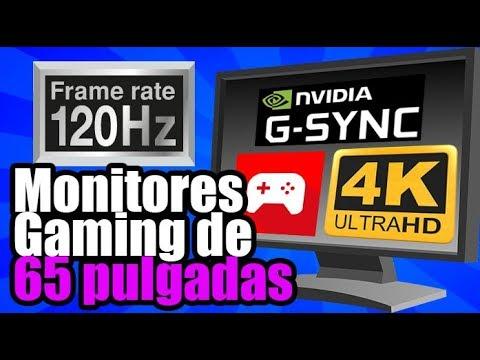 ¿Monitores Gamer de 65 pulgadas a 120hz 4k GSYNC? en el Digital Experience / CES2018 - Droga Digital